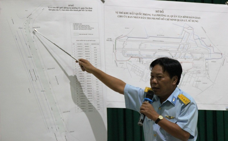 Bộ Quốc phòng bàn giao hơn 7.300 m2 đất cho TP.HCM - ảnh 1