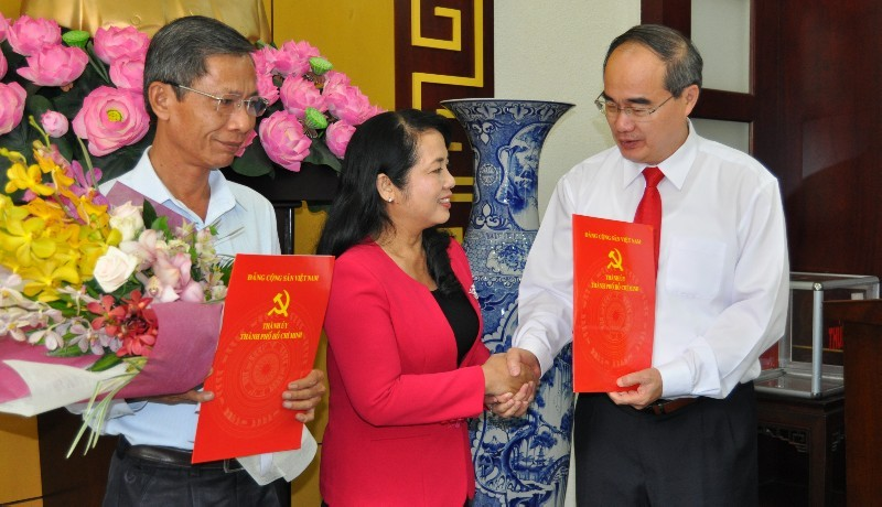 TP.HCM: Bà Trần Kim Yến làm Bí thư quận 1 - ảnh 1