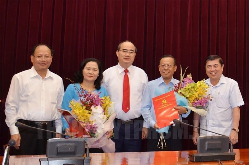Bà Nguyễn Thị Lệ làm Trưởng Ban Tổ chức Thành ủy TP.HCM - ảnh 1