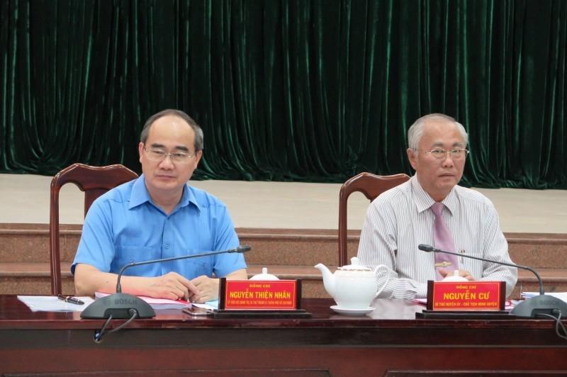 Hóc Môn kiến nghị tăng thêm 1 phó chủ tịch - ảnh 1