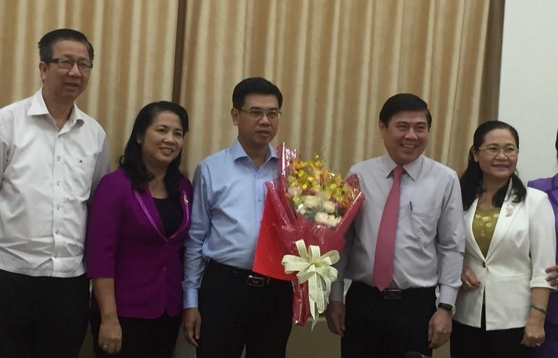 Thành ủy TP.HCM chỉ định nhân sự phó bí thư quận 1 và Hóc Môn  - ảnh 1