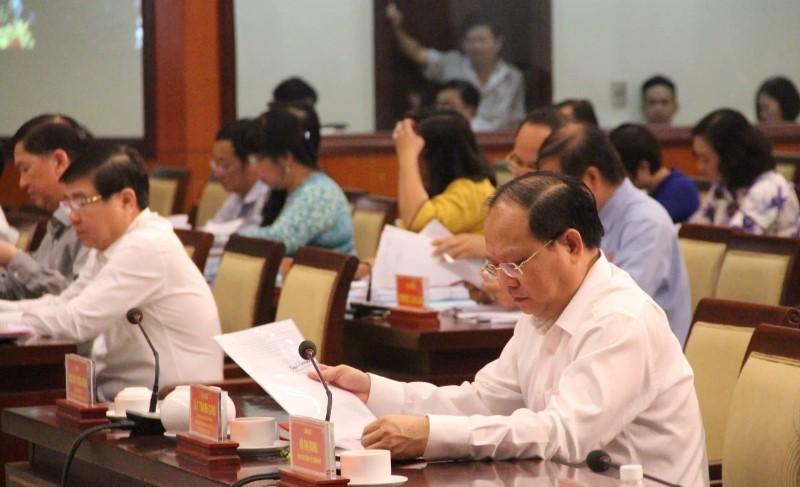 HĐND TP.HCM đang chất vấn các lãnh đạo chủ chốt - ảnh 1
