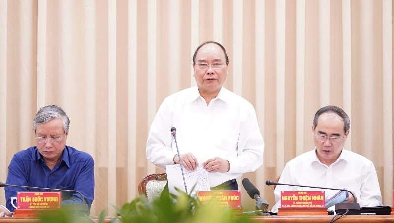 Thủ tướng: 'Cùng bàn, cùng xốc tới đưa TP.HCM phát triển' - ảnh 1