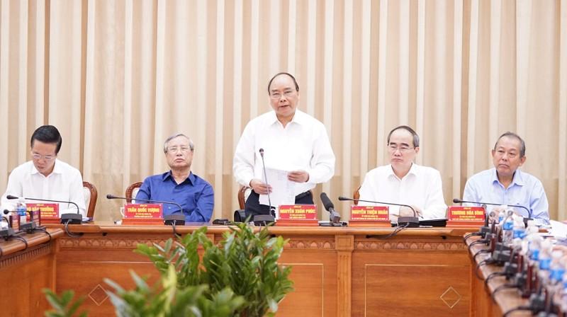 Thủ tướng: TP.HCM cần đi tiên phong trong nhiều lĩnh vực - ảnh 1