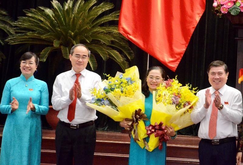Phó Bí thư Nguyễn Thị Lệ được bầu làm Chủ tịch HĐND TP.HCM - ảnh 1