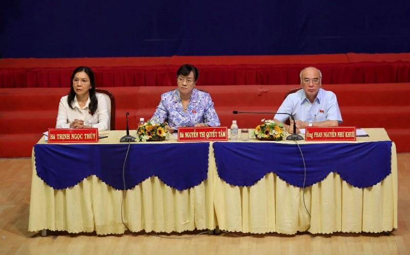 Cử tri quận 2 tiếp tục nêu ý kiến về dự án Thủ Thiêm - ảnh 1