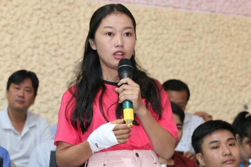 Cử tri quận 2 tiếp tục hỏi bà Quyết Tâm về vấn đề Thủ Thiêm - ảnh 3