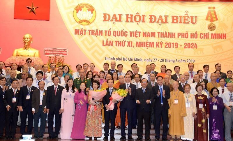 Bà Bích Châu tiếp tục làm Chủ tịch Ủy ban MTTQ Việt Nam TP.HCM - ảnh 1