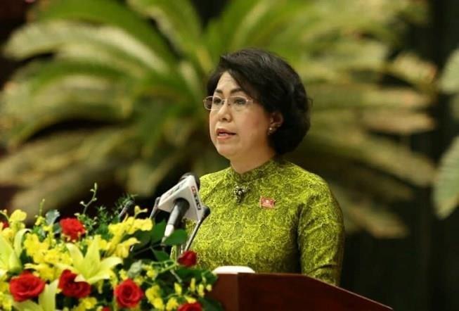 Bà Bích Châu tiếp tục làm Chủ tịch Ủy ban MTTQ Việt Nam TP.HCM - ảnh 2