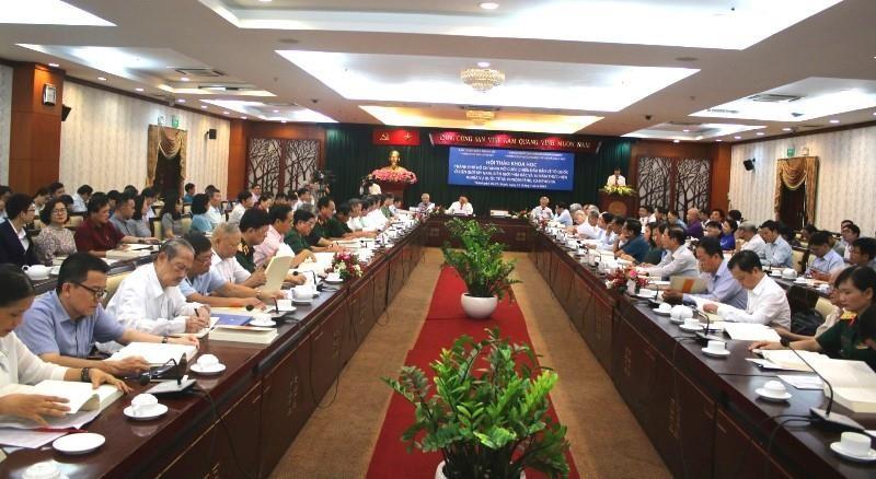 Hội thảo về cuộc chiến bảo vệ biên giới phía Bắc và Tây Nam - ảnh 2
