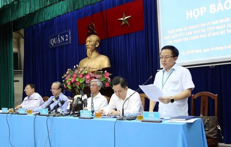 TP.HCM công bố ranh khu 4,3 ha khu đô thị mới Thủ Thiêm - ảnh 1