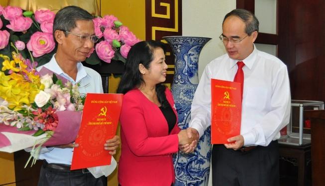 Thành ủy TP.HCM có thêm 3 ủy viên Ban Thường vụ - ảnh 3