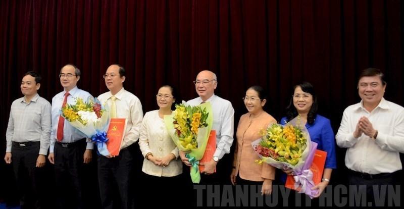 Ban Bí thư chuẩn y 3 ủy viên Ban Thường vụ Thành ủy TP.HCM - ảnh 1