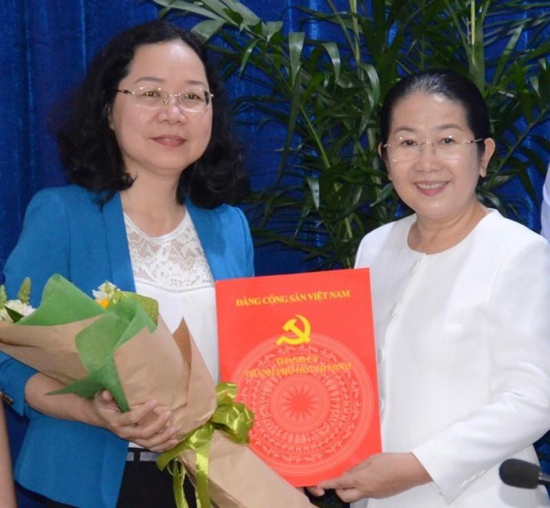 Bà Thái Thị Bích Liên làm bí thư quận 4 - ảnh 1