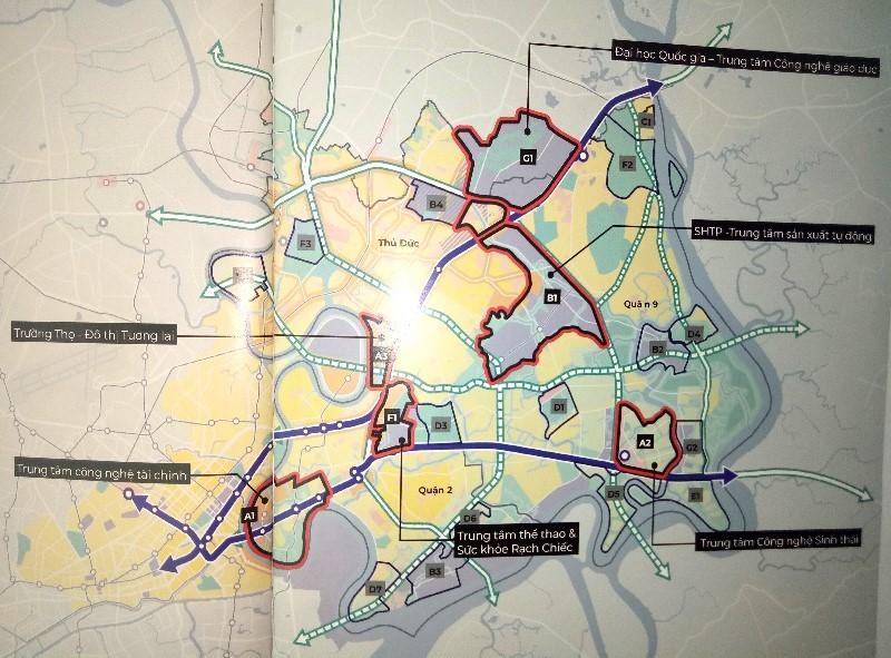 6 khu chức năng của Khu đô thị sáng tạo phía Đông TP.HCM - ảnh 2