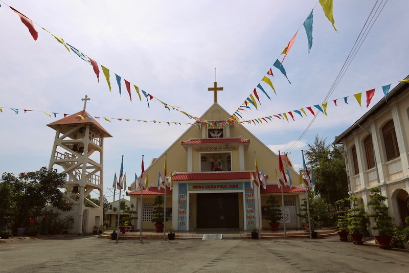Tu viện và nhà thờ Thủ Thiêm được xếp hạng di tích cấp TP - ảnh 2