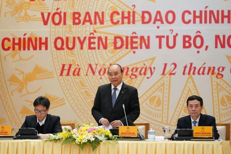 Thủ tướng: Làm tốt chính phủ điện tử cũng giúp ngừa COVID-19 - ảnh 1