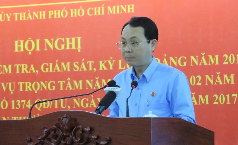Thực hiện QĐ 1374: TP.HCM cách chức, khai trừ nhiều đảng viên - ảnh 1
