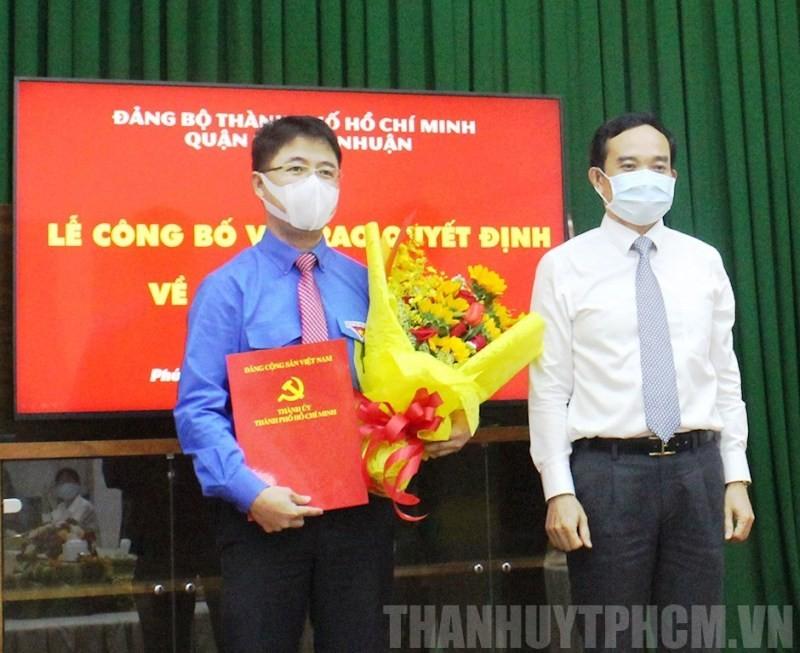 Ông Phạm Hồng Sơn làm Bí thư quận Phú Nhuận - ảnh 1