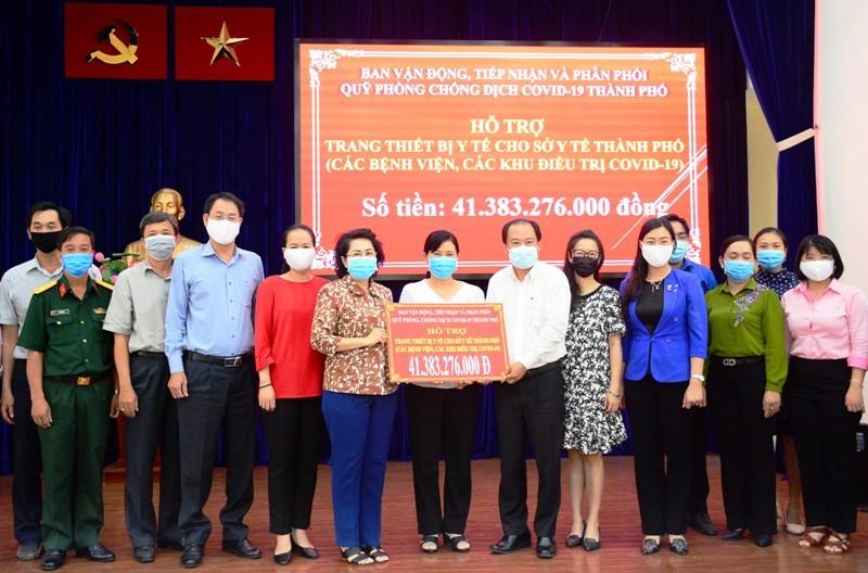 TP.HCM: Hơn 41 tỉ đồng hỗ trợ mua thiết bị y tế chống dịch - ảnh 1