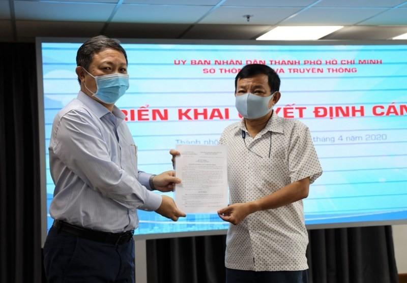 Ông Nguyễn Văn Khanh làm Phó Giám đốc Trung tâm Báo chí TP.HCM - ảnh 1
