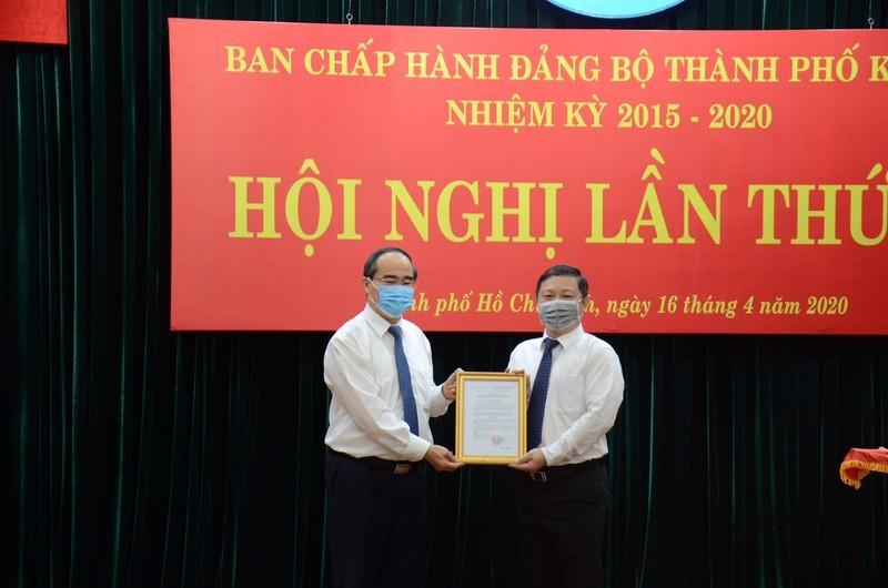 Phân công lĩnh vực cho tân phó chủ tịch UBND TP.HCM - ảnh 1