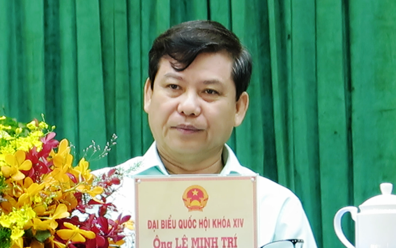 Ông Lê Minh Trí: Chọn người để làm được việc dân cần - ảnh 1