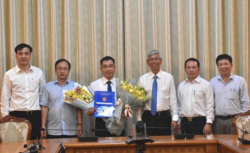 Phó chủ tịch quận 2 giữ chức phó giám đốc Sở Xây dựng TP.HCM - ảnh 1