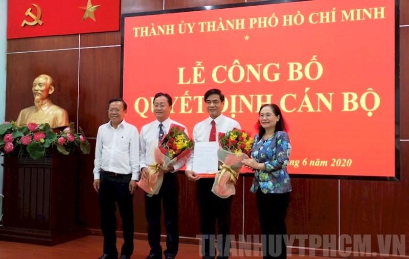 Ông Trương Quốc Lâm làm Bí thư Quận ủy quận 11 - ảnh 1