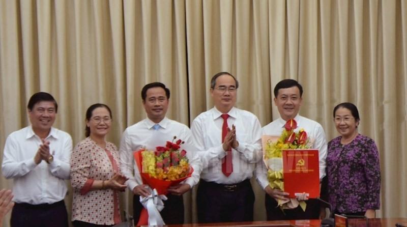 Ban Bí thư chỉ định 2 ủy viên Ban Chấp hành Đảng bộ TP.HCM - ảnh 1