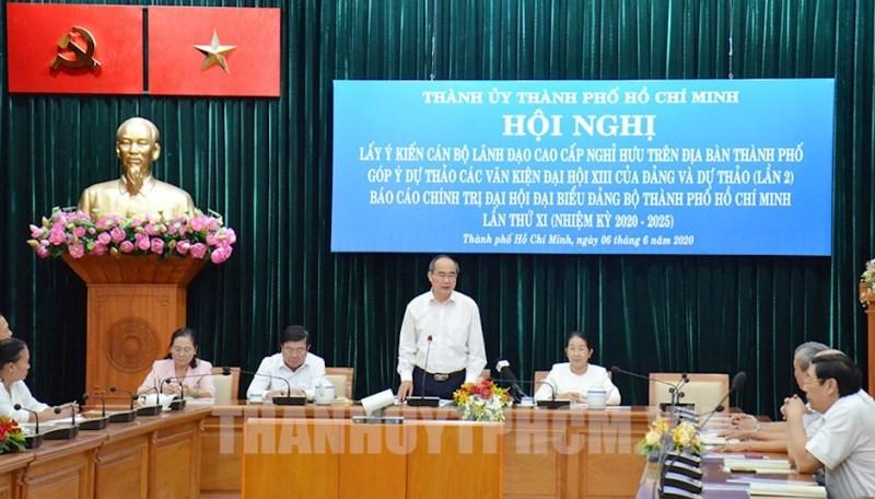 Dự thảo lần 2 Báo cáo Chính trị ĐH Đảng bộ TP.HCM lần thứ XI - ảnh 1