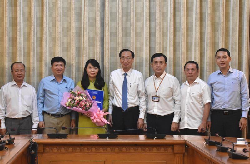 Bà Vũ Thị Huỳnh Mai làm Phó Chánh Văn phòng UBND TP.HCM - ảnh 2