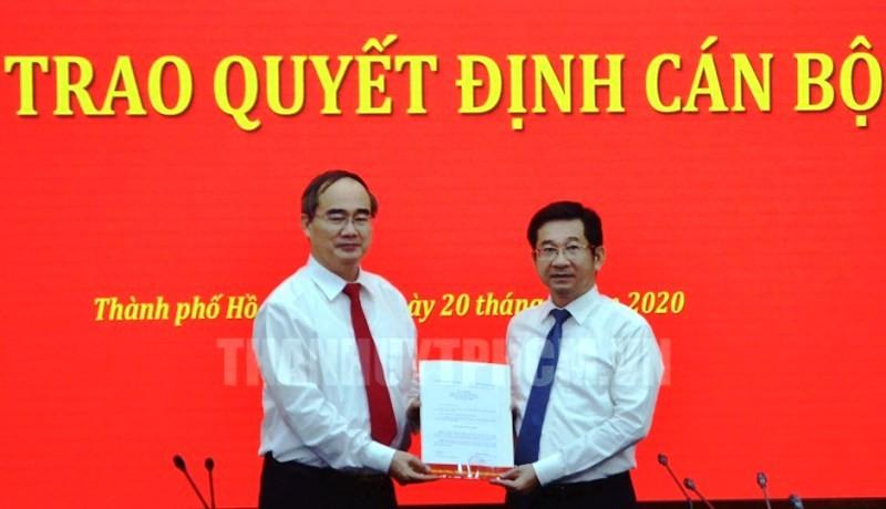 Ông Dương Ngọc Hải làm Ủy viên Ban Thường vụ Thành ủy TP.HCM - ảnh 1