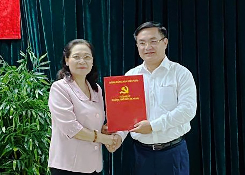 Ông Trần Trọng Tuấn làm Phó Chánh Văn phòng Thành ủy TP.HCM - ảnh 1