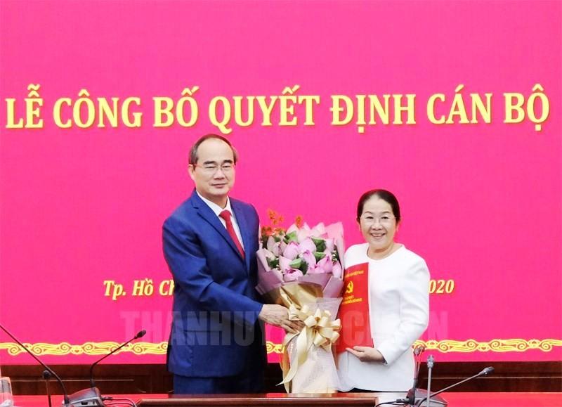 Phó Bí thư Thành ủy TP.HCM Võ Thị Dung nghỉ hưu - ảnh 1