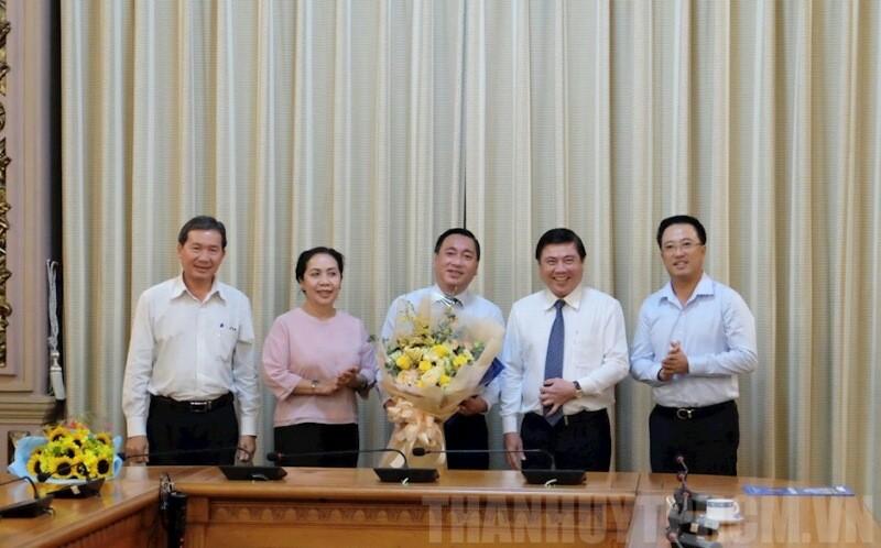 Ông Phạm Thành Kiên tham gia Ban Chấp hành Quận ủy quận 3 - ảnh 1