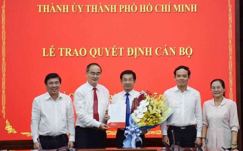 Ông Dương Ngọc Hải làm Chủ nhiệm UBKT Thành ủy TP.HCM - ảnh 1