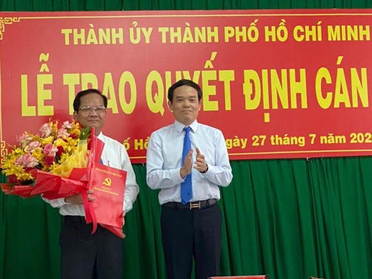 Ông Trần Văn Khuyên làm Bí thư Huyện ủy Hóc Môn - ảnh 1