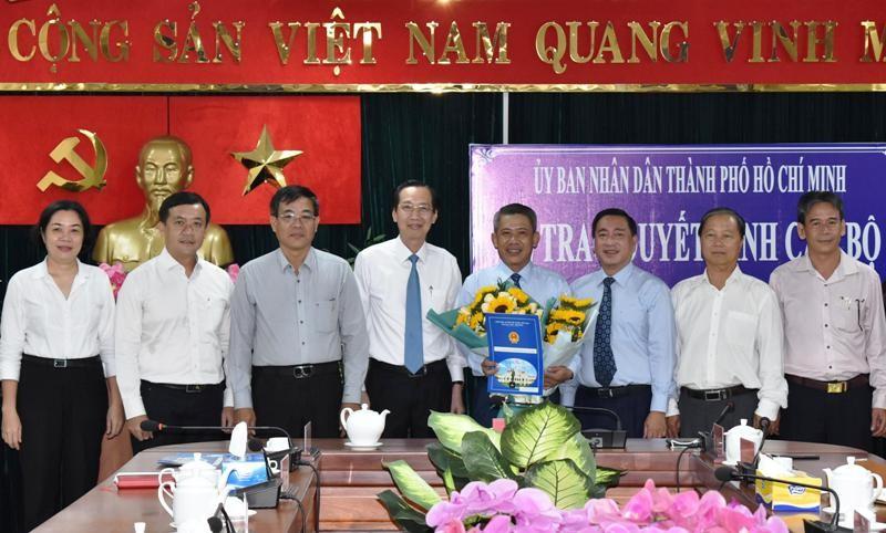 Ông Võ Văn Đức làm Chủ tịch UBND quận 3 - ảnh 1