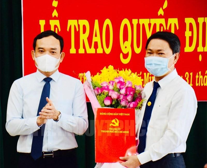 Huyện Bình Chánh có Bí thư mới, ông Nguyễn Văn Phụng xin nghỉ  - ảnh 1