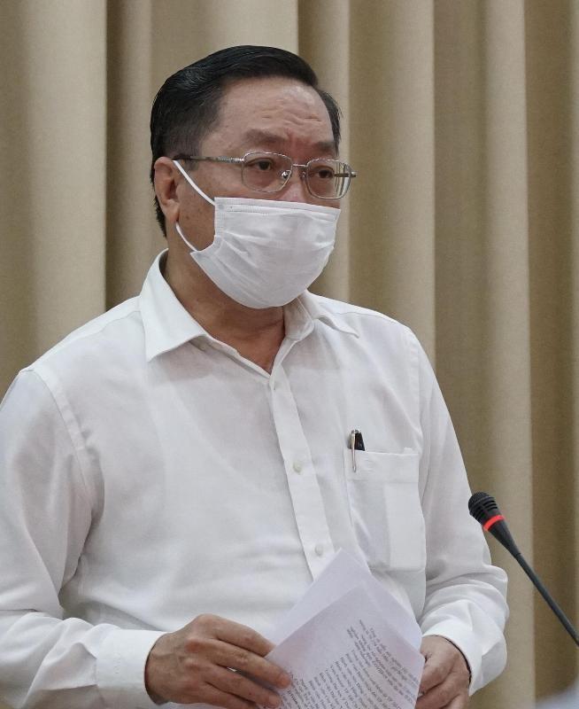 Đề xuất TP.HCM áp dụng Chỉ thị 19 của Thủ tướng về chống dịch - ảnh 1