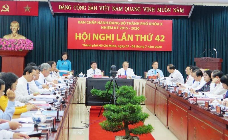 Thông báo Hội nghị Thành ủy TP.HCM lần thứ 42 - ảnh 1