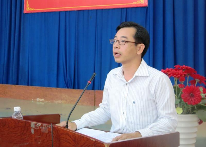 Ông Phạm Minh Mẫn được bầu làm Chủ tịch UBND quận Tân Phú - ảnh 1