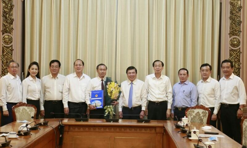 Ông Huỳnh Thanh Nhân làm Giám đốc Sở Nội vụ TP.HCM - ảnh 1