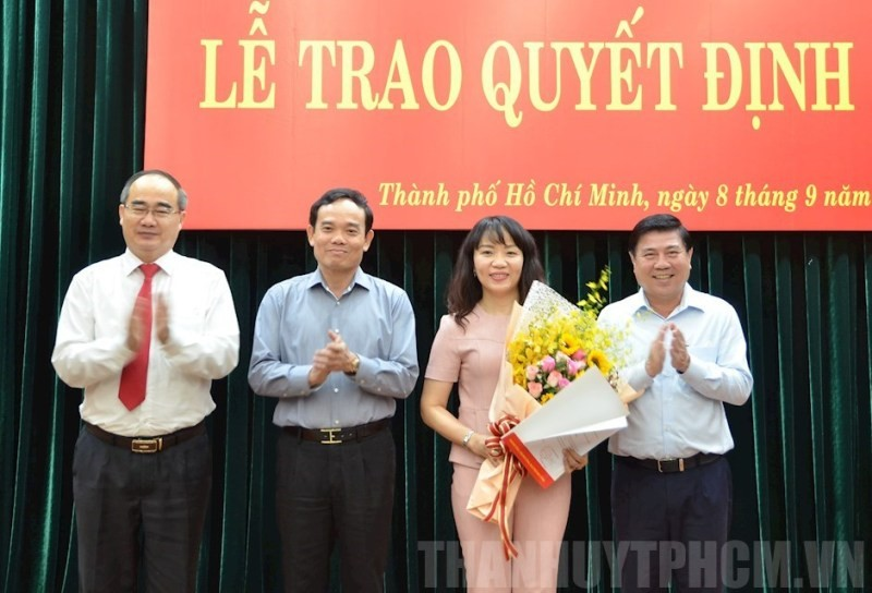 Bà Phạm Thị Hồng Hà được chỉ định vào BCH Đảng bộ TP.HCM - ảnh 1