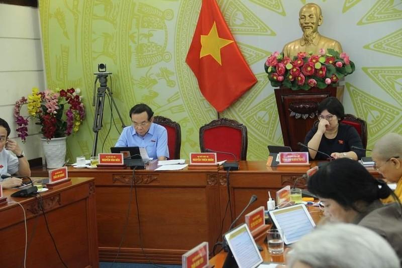 ĐB Nguyễn Văn Nên chuyển sinh hoạt quốc hội đến TP.HCM - ảnh 1