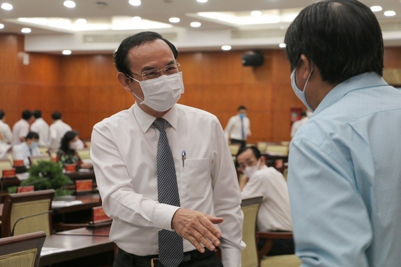 Ông Nguyễn Văn Nên: Phải thực hiện nghiêm phòng, chống COVID - ảnh 2