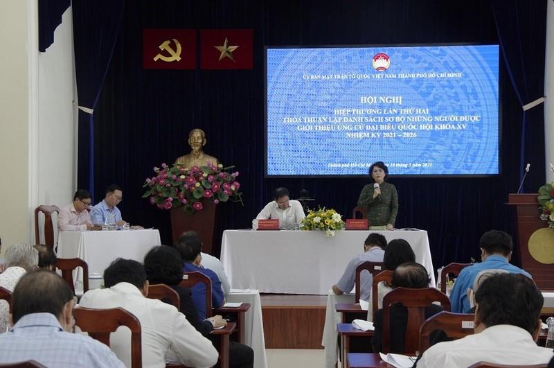 TP.HCM thông qua danh sách sơ bộ 51 ứng viên đại biểu Quốc hội - ảnh 1