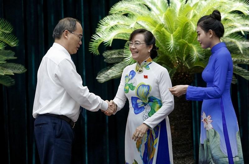 Bà Quyết Tâm được tặng Huân chương Độc lập hạng Ba - ảnh 1