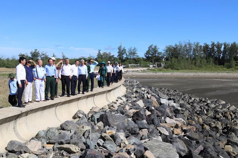 Bí thư Nguyễn Văn Nên đi khảo sát tại xã đảo Thạnh An - ảnh 3
